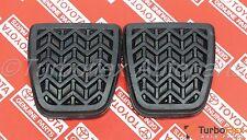 Toyota Scion Clutch Brake Pedal Pad Set of 2 Genuine OEM    31321-52010