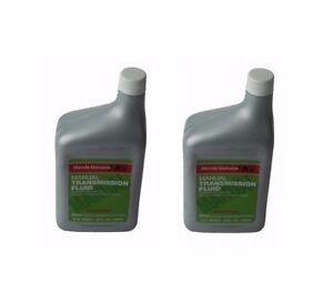 For Pair Set of 2 Bottles Quarts Genuine Honda Manual Transmission Fluid MTF
