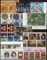 #2182 - San Marino - Lotto di 55 francobolli, 1967/2002 - Usati