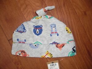 BNWT BABY BOYS JOULES GREY SPORTS STAR BEANIE HAT AGE 3-6 MONTHS.