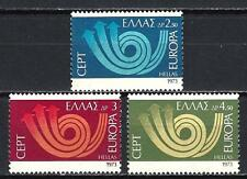 Grèce -Greece 1973 Europa Yvert n° 1125 à 1127 neuf ** 1er choix