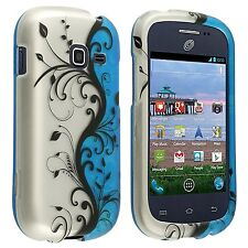 Samsung Galaxy Discover S730G Rubberized Snap-on Hard Design Case Cover