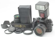 *NEAR MINT* Minolta Maxxum Dynax α-7 24-105mm 3.5-4.5 28-80mm 3.5-5 flash JAPAN