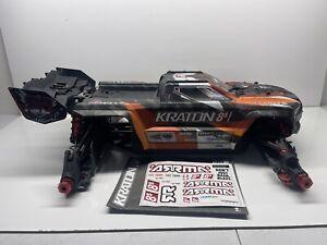 Arrma Kraton 8s 1/5 Slider/Roller W Rpm Arms & Body Rc Part #5980