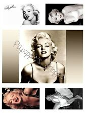 Fabric Block Marilyn Monroe Collage Crazy Quilt Kit 5 images
