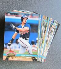 1991 Topps Stadium Club Charter Member Limited Edition Card Set; 50 Cards in Box