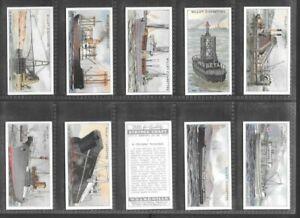 "WILLS 1931 INTERESTING ( CRAFT ) FULL 50 CARD SET  """"  STRANGE CRAFT  """""