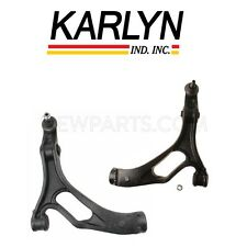 NEW Porsche Volkswagen Pair Set of 2 Front Lower Control Arms & Bushings Karlyn