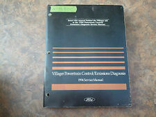 1994 Ford Villager Powertrain Emissions Diagnosis Service Manual -* Original
