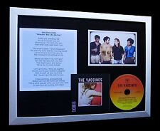 THE VACCINES Wreckin' Bar LTD TOP QUALITY CD FRAMED DISPLAY+EXPRESS GLOBAL SHIP!