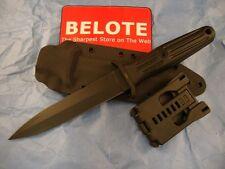Boker Applegate Fairbairn Combat II BLACK Fixed Blade w/ Kydex Sheath 120543B