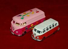 Die Cast Models 1:43/1:38 VOLKSWAGEN Vans Set Of 2