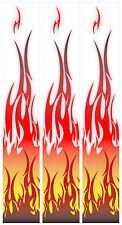 """15 - 6x1"""" Tribal Flame Arrow Wraps"""