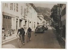 CYCLISME, VÉLO, TOUR DE FRANCE : Photo de presse SCHEPERS (Belge) et Le GOFF.