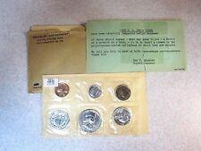 1958 Silver Proof Set, Original Envelope/Packaging, Free Shipping