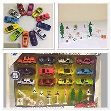 12Die Cast Car Racing Race F1 Toy Play Metal Mini Vehicle Model Set Kid Boy Gift