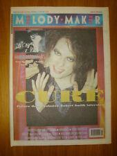 MELODY MAKER 1991 JUN 22 THE CURE CHARLATANS COSTELLO
