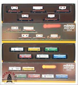 Z 1:220 scale Märklin model trains Set freight cars 8664 8663 Circus Barum