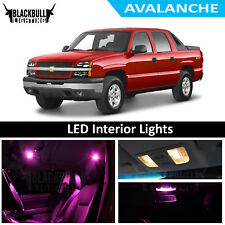 Pink LED Interior Lights Replacement Kit for 2002-2006 Chevy Avalanche 20 bulbs