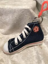 Vintage High Top Tennis Shoe Key Chain