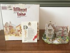 Lilliput Lane Cottage Armada House English Midlands 1991 Miniatures England