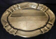 Vtg 28oz Gorham Solid Sterling Silver Chippendale Tray Serving Platter Vanity 15