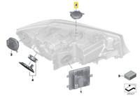 Véritable BMW 3' 8' Série LED Module pour Jour Conduite Phare avant 63118496134