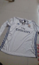 Real Madrid Football Jersey Home Long Sleeve (Size XL / Brand New).-