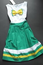 ARIZONA - cotton voile skater dress with bow L / 12