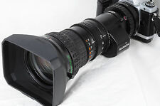 Fujinon TV zoom A20x8.6B4 w/2x extender 8.6-172mm f/1.8 IF Excellent 2075