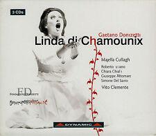 DONIZETTI  linda di chamounix  MAJELLA CULLAGH - VITO CLEMENTE / 3 CDS
