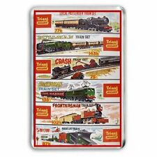 TRI-ANG (Triang) TRAIN SETS SHOP WINDOW ADVERT JUMBO Fridge / Locker Magnet