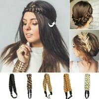 Hair Bands Braids Hair Accessories Bohemian Plait Headbands Synthetic Wig Twist