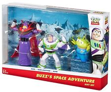 TOY STORY BUZZ'S SPACE ADVENTURE GIFT SET 3-PACK W/ ZURG & ALIEN DMK80 *NEW*