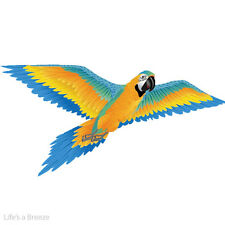 Macaw 3D Windsock Kite Flown From Telescopic Pole With Free line Rig