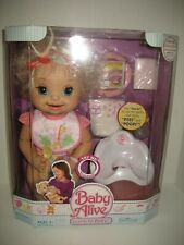 """NEW SEALED Baby Alive 2007 """"Learns to Potty"""" Doll Interactive Set Collectible"""