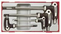 Teng Tools 7 Piece Torx Power T Handle Star Allen Key Set T10-T40 In Case