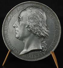 Médaille au prêtre défroqué Victor de Lanneau franc-maçon 1825 sc Gatteaux Medal