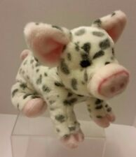 SPOTTED PIG PAULINE DOUGLAS CUDDLE PLUSH TOY 12 INCH