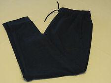 Mens Nike Dry Dri Fit large L sport training 742212 Navy Heather 451 pants