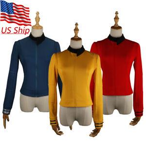 Discovery 2 Starfleet Commander Number Ones Gold Uniform Nhan Red Blue Top Shirt