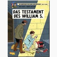 Abenteuer von Blake und Mortimer 21 Das Testament des William S. CARLSEN COMIC