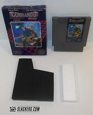 COMMANDO  (Nintendo Entertainment System)  NES Cart + Box  SUPER JOE  Combat