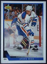 NHL 367 Steve Rice Edmonton Oilers Upper Deck 1993/94