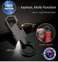Style Metal LED Car Keyring Keychain Key Chain Ring Christmas Gift Fashion Men's