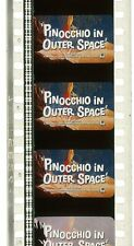 35mm Film Movie Trailer - Pinocchio in Outer Space (1965) - IB