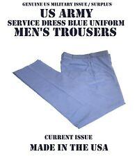 US Army Service Uniform ASU Men's Dress Blue Enlisted Trousers Pants 38r