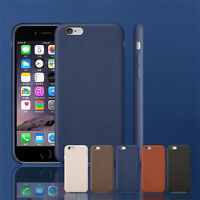 Luxury Ultra-thin PU Leather Back Skin Case Cover For Apple iPhone 6S /6S Plus