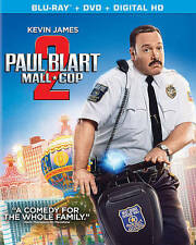 Paul Blart: Mall Cop 2 (Blu-ray + DVD + UltraViolet), DVD, James, Kevin, , New