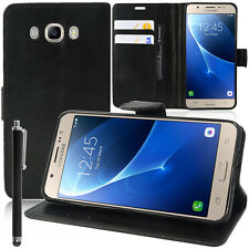 "Etui Coque Housse NOIR Portefeuille Video Samsung Galaxy On8 SM-J710FN/DF 5.5"""
